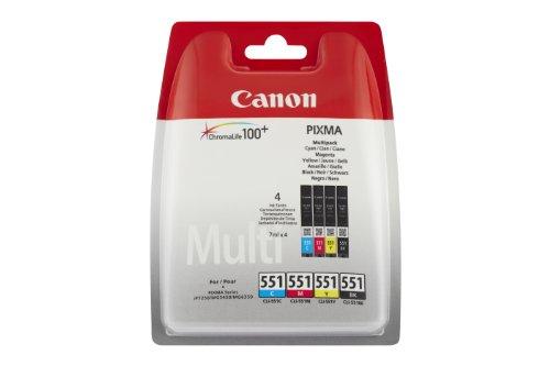 Canon CLI551 Druckerpatronen für Pixma MX925