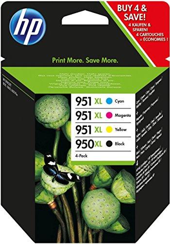 HP 950XL/951XL Druckerpatronen für Officejet Pro 8100