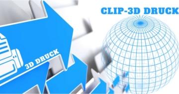 CLIP 3D Drucker Technologie